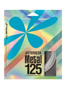 Toalson ASTERISTA Metal Set - highest quality multifilament tennis string - tennis arm-friendly!