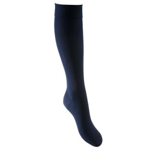 Lightweight compression socks suitable for regeneration and when sitting or standing for long periods available - colour: navy