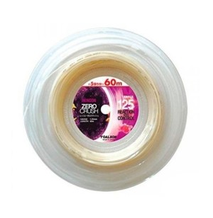 TOALSON Polyester Tennis String Rencon ZERO CRUSH with perfect spin - 200m spool