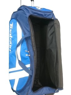 TOALSON Tennis trolley tournament/travel bag large - for countless rackets and travel utensils at tournaments